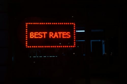 Best rates sign meaning interest rates this week