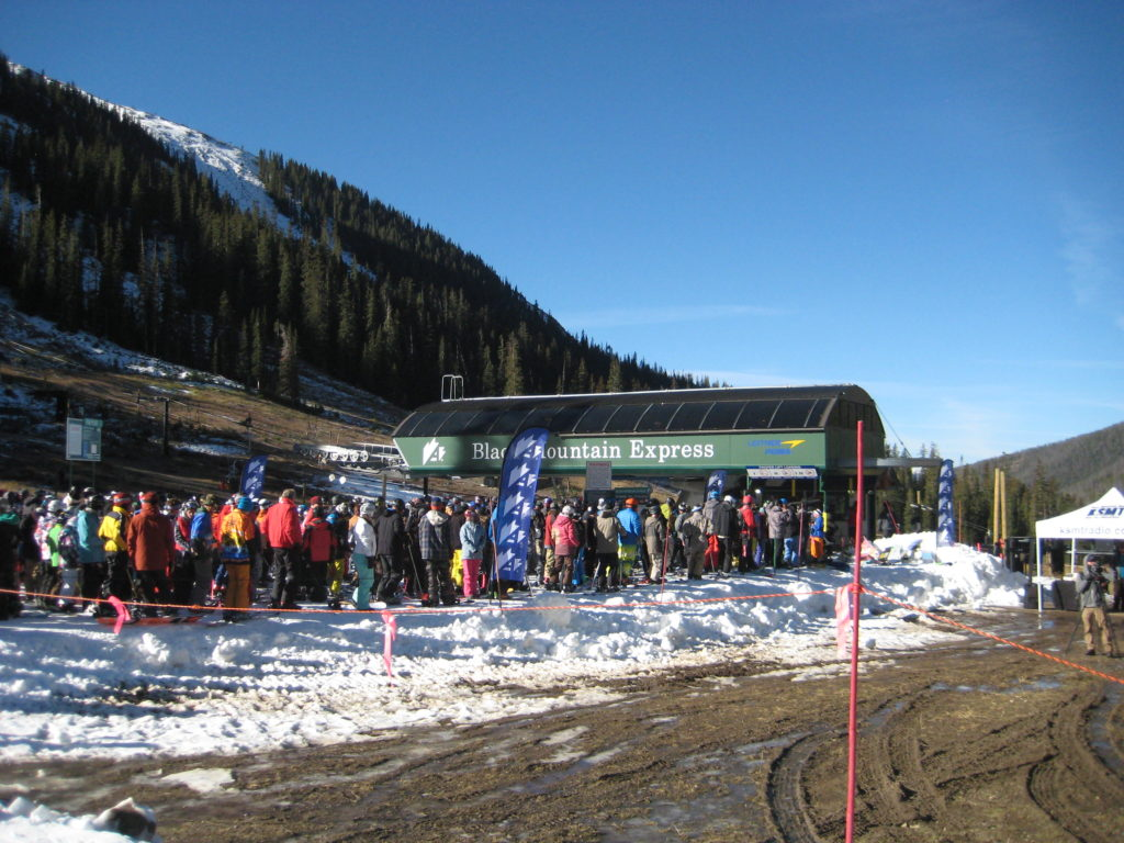 Opening Day at A-Basin