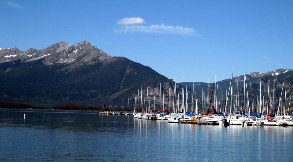 Sailboats on Lake Dillon