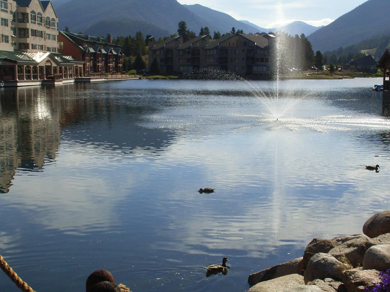 Keystone Lake in Keystone Colorado