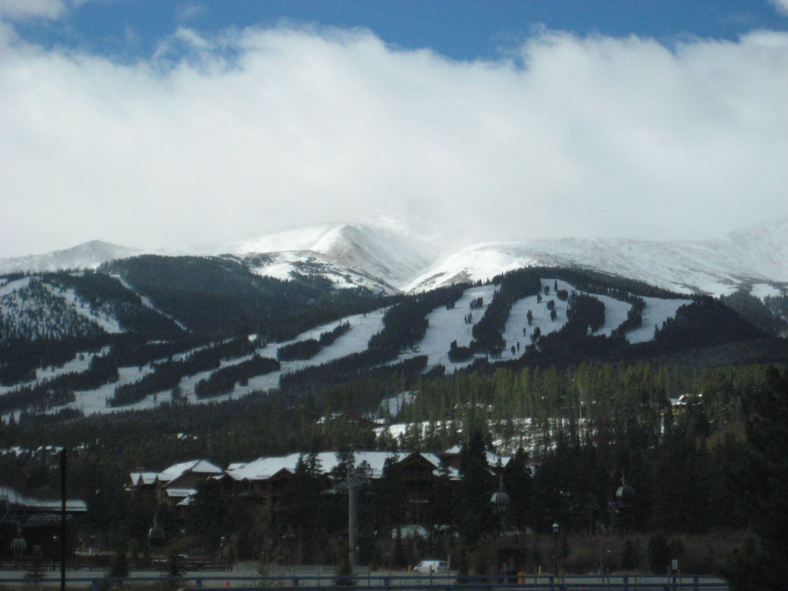 The slopes of Breckenridge
