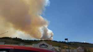 Buffalo Mountain Wildfire from Lowes