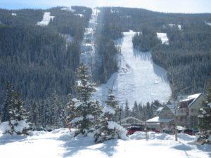 The slopes at Keystone Resort