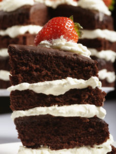 Delicious looking piece of cake