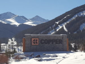 Copper Mountain Sign at Copper Ski Area