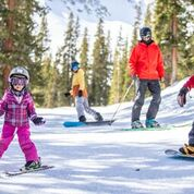 Family Skiing at A-Basin