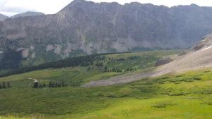 Beautiful scenery when hiking in summit county
