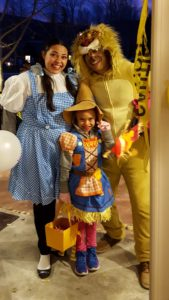 Wizard of Oz at Trick or Treat Street in Frisco
