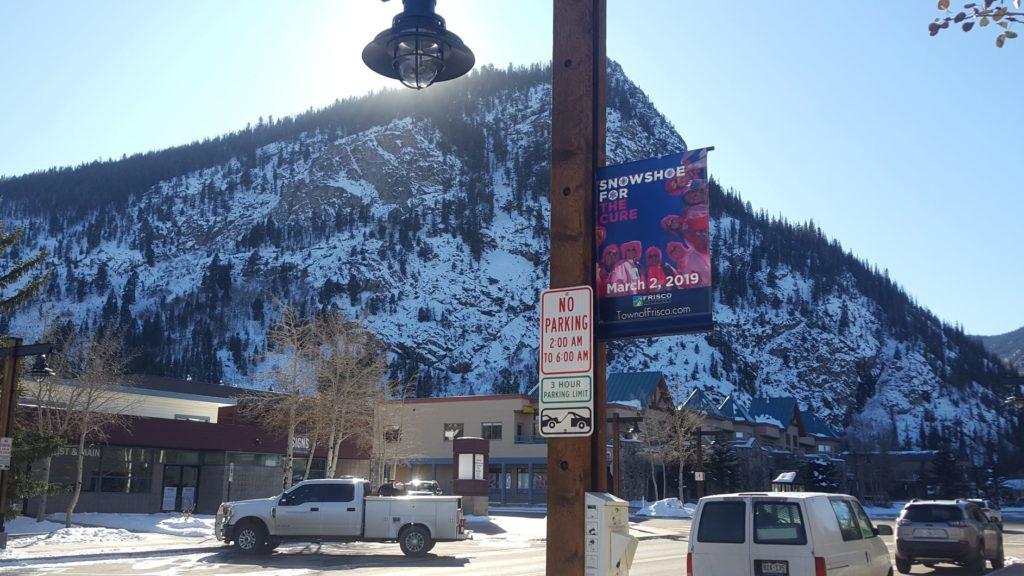 Frisco Main Street Parking Sign