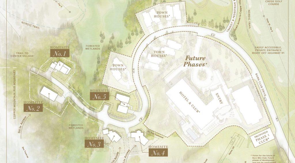 Copper's new A lift neighborhood sketch