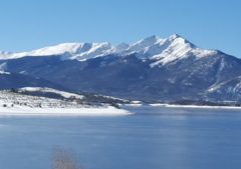 Peak One over Lake Dillon