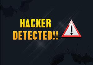Hacker detected alert