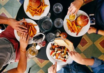 eating at a restaurant as Summit County loosens Covid restrictions